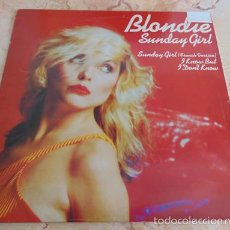 Discos de vinilo: BLONDIE - SUNDAY GIRL (FRENCH VERSION) - I KNOW BUT I DON'T KNOW - MAXISINGLE UK 1979. Lote 57548563
