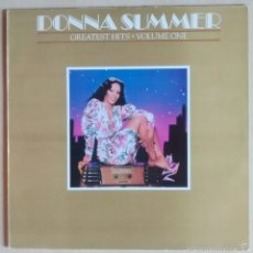 Discos de vinilo: DONNA SUMMER – GREATEST HITS - VOLUME ONE / LP - SPAIN 1980. Lote 89420540