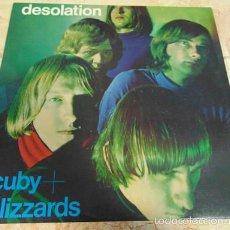 Discos de vinilo: CUBY + BLIZZARDS – DESOLATION - LP REEDICION 2004. Lote 57550521