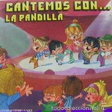 Discos de vinilo: LA PANDILLA - CANTEMOS CON...LA PANDILLA - LP PORTADA ABIERTA - MOVIEPLAY 1971 . Lote 57550677