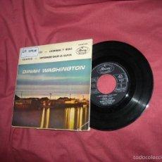 Discos de vinilo: DINAH WASHINGTON EP SPAIN 1962 QUE NOCHE-SUEÑO-LAGRIMAS Y RISAS-SEPTIEMBRE BAJO...VER FOTO ADICIONA. Lote 57551775