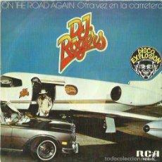 Discos de vinilo: DJ ROGERS SINGLE SELLO RCA AÑO 1977. Lote 57554193