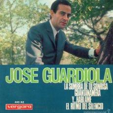 Discos de vinilo: JOSE GUARDIOLA, EP, Y... HABLAME + 3, AÑO 1966. Lote 57555551
