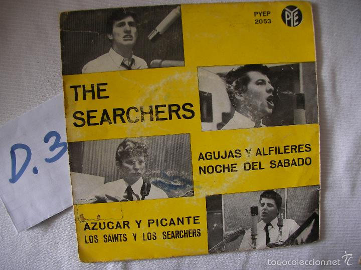 Discos de vinilo: ANTIGUO SINGLE - THE SEARCHERS - ENVIO INCLUIDO A ESPAÑA - Foto 1 - 57558970