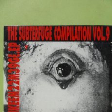 Discos de vinilo: THE SUBTERFUGE COMPILATION VOL.9: LORD SICKNESS,LOS CANADIENSES,YELLOW FINN,MY CRIMINAL PSYCHOLOVERS. Lote 57560091