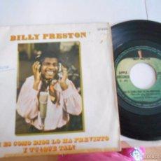 Discos de vinilo: BILLY PRESTON-SINGLE ASI ES COMO DIOS LO HA PREVISTO 1969. Lote 57562427