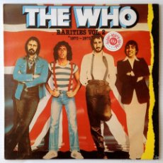 Discos de vinilo: THE WHO. RARITIES VOL. 2 1970-1973. POLYDOR, 1982.. Lote 57562638