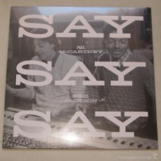 Discos de vinilo: THE BEATLES - PAUL MCCARTNEY - MICHAEL JACKSON MAXI 12P SAY SAY SAY(EDICIÓN LIMITADA - BLACK FRIDAY). Lote 57562793
