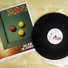 Discos de vinilo: PROGRAMA - REUNION DE AMIGOS - MAXI SINGLE VINILO ORIGINAL 1984 EDICION PICAP. Lote 57566649