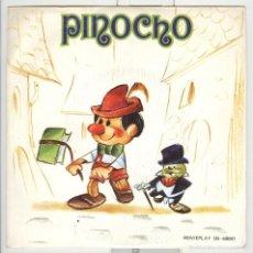 Discos de vinilo: PINOCHO. CUENTO INFANTIL. MOVIEPLAY 1972. . Lote 57569323