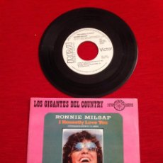 Discos de vinilo: VINILO LOS GIGANTES DEL COUNTRY / RONNIE MILSAP / I HONESTLY LOVE YOU / RCA 1975. Lote 57571140