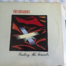 Discos de vinilo: LP THE CRUSADERS-HEALING THE WOUNDS. Lote 57581072
