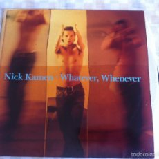 Discos de vinilo: LP NICK KAMEN-WHATEVER,WHENEVER. Lote 57581323