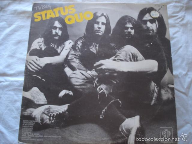 STATUS QUO THE BEST OF STATUS QUO (Música - Discos - LP Vinilo - Pop - Rock - Extranjero de los 70)