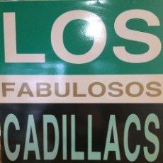Discos de vinilo: LOS FABULOSOS CADILLACS-GITANA/MANUEL SANTILLAN+2-1992-MUY RARO-NUEVO!!. Lote 195766065