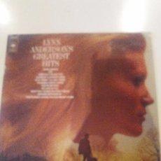 Discos de vinilo: LYNN ANDERSON GREATEST HITS ( 1972 CBS HOLANDA ) THE JORDANARIES. Lote 57584290