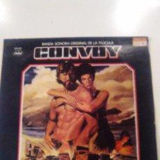 Discos de vinilo: CONVOY ( 1978 EMI CAPITOL ESPAÑA ) KRIS KRISTOFFERSON KENNY ROGERS MERLE HAGGARD DOC WATSON GLEN CAM. Lote 57584705