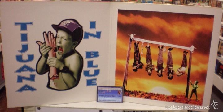 Discos de vinilo: Tijuana In Blue - Te Apellidas Fiambre - LP editado en 1991. Gatefold sleeve. Con encarte. - Foto 2 - 57590755