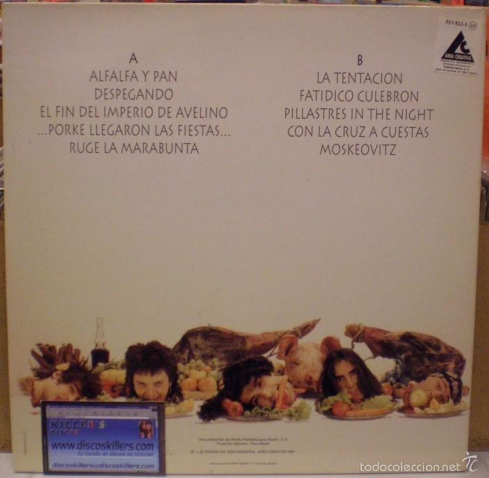 Discos de vinilo: Tijuana In Blue - Te Apellidas Fiambre - LP editado en 1991. Gatefold sleeve. Con encarte. - Foto 3 - 57590755