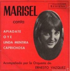 Discos de vinilo: MARISEL, EP, APIADATE + 3, AÑO 1968. Lote 57591317