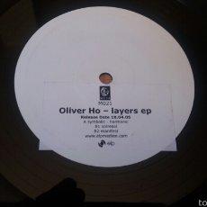 Discos de vinilo: OLIVER HO.LAYERS EP.PROMO. Lote 57592905