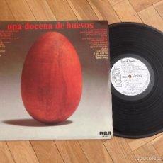 Discos de vinilo - LP VINILO UNA DOCENA DE HUEVOS RCA VICTOR PROMO PROMOCIONAL 1976 - 57603700