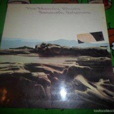 Discos de vinilo: THE MOODY BLUES LP. SEVENTH SOJOURN DOBLE PORTADA . Lote 57605123
