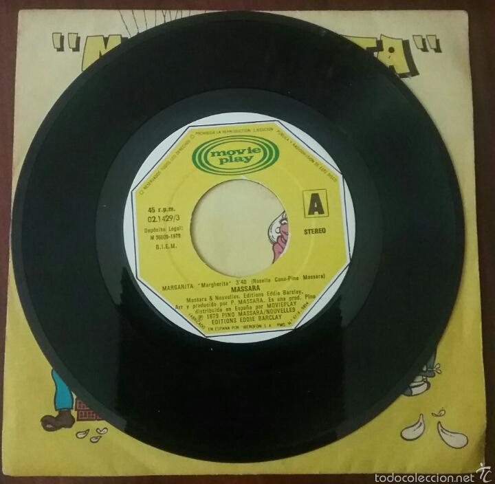 Discos de vinilo: VINILO SINGLE : MASSARA MARGARITA (1979) - Foto 2 - 57606517