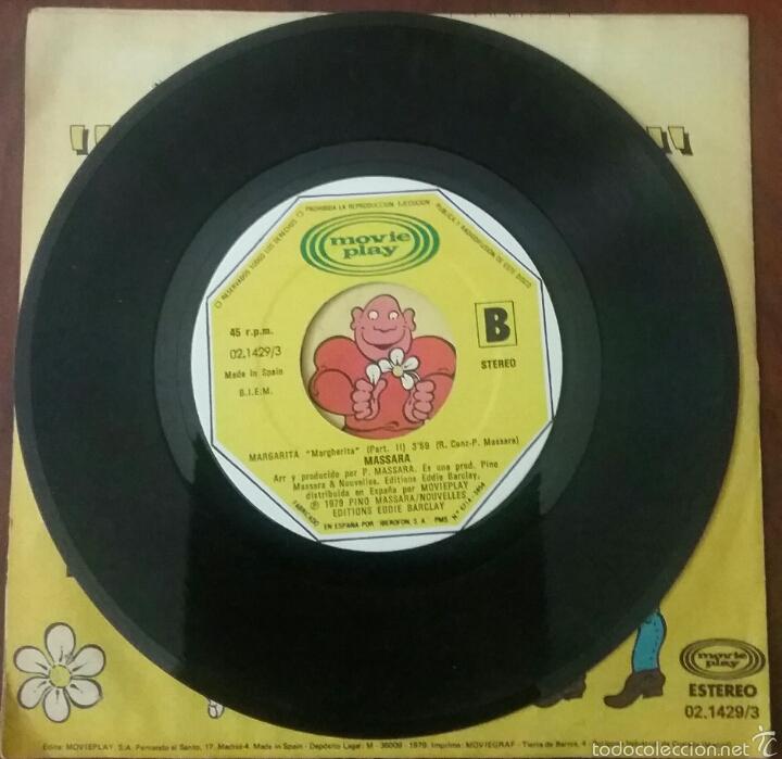Discos de vinilo: VINILO SINGLE : MASSARA MARGARITA (1979) - Foto 3 - 57606517