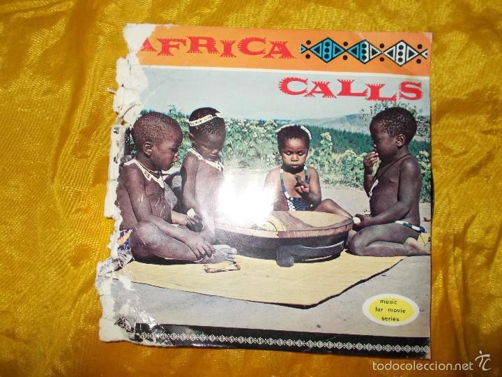 KINGS MESSENGERS QUARTET. AFRICA CALLS. EP. HIS MASTER´S VOICE. EDICION INGLESA. (D) (Música - Discos de Vinilo - EPs - Funk, Soul y Black Music)