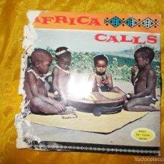 Discos de vinilo: KINGS MESSENGERS QUARTET. AFRICA CALLS. EP. HIS MASTER´S VOICE. EDICION INGLESA. (D). Lote 57607405