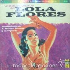 Discos de vinilo: LP ULTIMOS EXITOS DE LOLA FLORES (EDICION USA) ORQUESTA: F. MORENO TORROBA. Lote 57608576