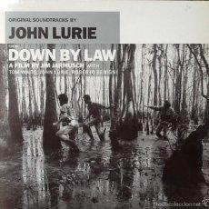 Discos de vinilo: JOHN LURIE : BSO DOWN BY LAW [ESP 1987] LP. Lote 55093396
