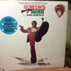 Discos de vinilo: LP VINILO OST BLAXPLOITATION - GORDON'S WAR / ORIG. USA PRESS 1973 / MUY MUY RARO!!!! HARD FUNK SOUL. Lote 57609984