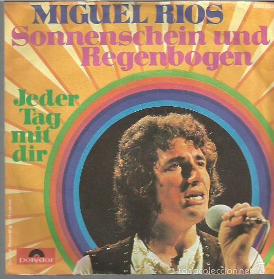 MIGUEL RIOS SINGLE. SELLO POLYDOR. EDITADO EN ALEMANIA (Música - Discos de Vinilo - EPs - Solistas Españoles de los 70 a la actualidad)
