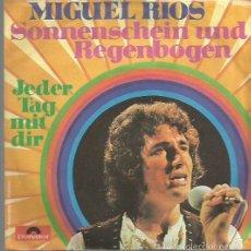 Discos de vinilo: MIGUEL RIOS SINGLE. SELLO POLYDOR. EDITADO EN ALEMANIA . Lote 57610343
