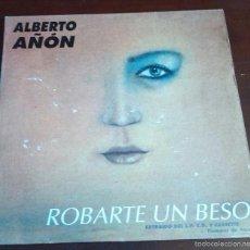 Discos de vinilo: ALBERTO AÑON - ROBARTE UN BESO - MAXI SINGLE.12. Lote 119111508