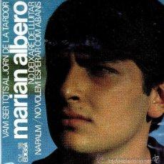 Discos de vinilo: MARIAN ALBERO – VAM SER TOTS AL JORN DE LA TARDOR + 3 TEMAS EP EDIGSA SPAIN 1967 . Lote 57613951