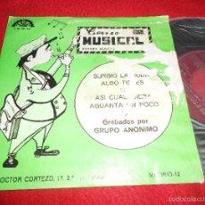 Disques de vinyle: GRUPO ANONIMO HITAN BOYS SURGIO LA DUDA/ASI CUALQUIERA/ALGO TIENES/AGUANTA UN POCO EP 1969 BERTA PRO. Lote 57614074