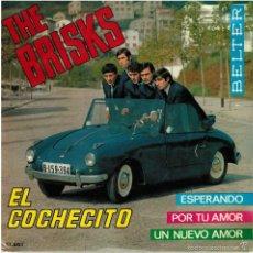 Discos de vinilo: LOS BRISKS,. EL COCHECITO/ ESPERANDO/ POR TU AMOR/ UN NUEVO AMOR. BELTER, ESP. 1965 EP. Lote 57614480