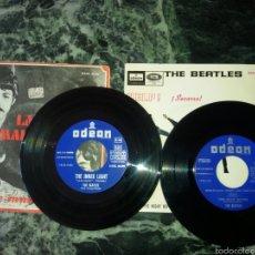 Discos de vinilo: DOS VINILOS DE THE BEATLES ORIGINALES.HELP;LADY MADONNA.. Lote 57615375