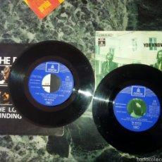 Discos de vinilo: DOS VINILOS THE BEATLES ORIGINALES.LET IT BE,THE LONG AND WINDING ROAD.. Lote 57615604