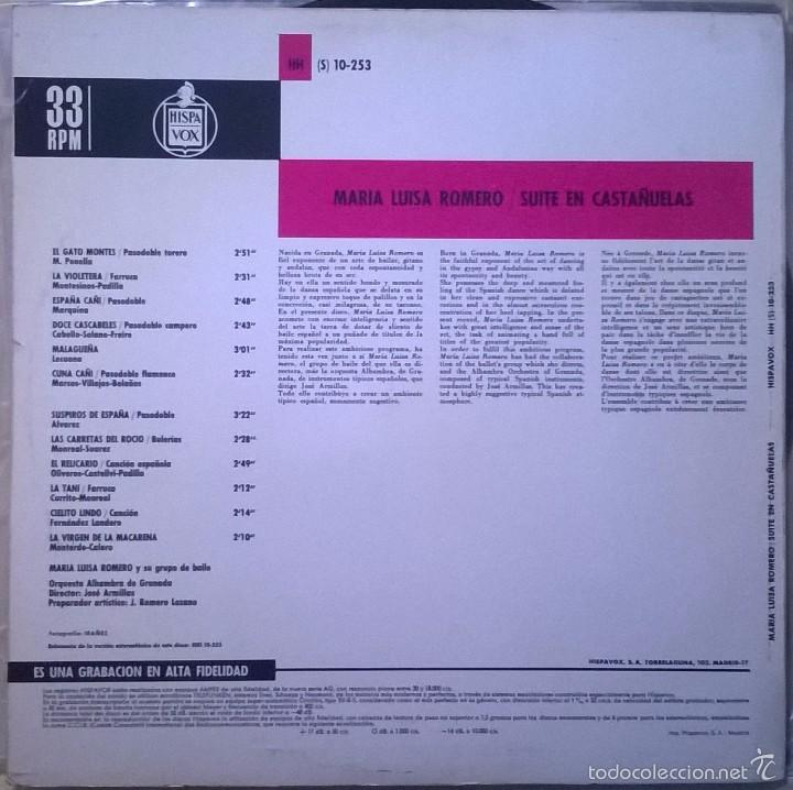 maria luisa romero y su grupe de baile-suite en - Comprar Discos LP ...