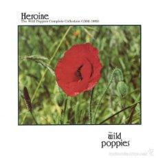 Discos de vinilo: 2LP THE WILD POPPIES HEROINE (COMPLETE COLLECTION 86-89) VINILOS VERDES LTD JANGLE. Lote 150220961