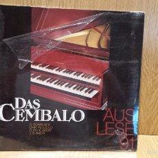Discos de vinilo: DAS CEMBALO. AUSLESE 91. LP / ANDRÓMACO / P R E C I N T A D O . *****. Lote 57630121