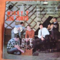 Discos de vinilo: MICKY Y LOS TONYS EP NOVOLA 1967 BSO CODO CON CODO NO SE PUEDE SER VAGO +3 BEAT POP . Lote 57631919