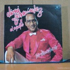Discos de vinilo: DIONIS FERNANDEZ Y EL EQUIPO - LOS DISEÑADORES - EQUIPO RECORDS ER001 - 1984 - EDICION DOMINICANA. Lote 57633570