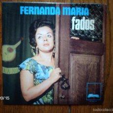 Discos de vinilo: FERNANDA MARIA - FADOS - SAUDADES NAO AS QUERO + 3 - EDICIÓN PORTUGUESA . Lote 57639957