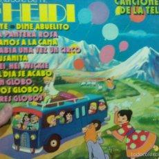 Discos de vinilo: HEIDI CANCIONES DE LA TELE. Lote 57641355