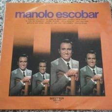Discos de vinilo: MANOLO ESCOBAR. Lote 57645493
